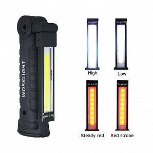 5Modes Rechargeable COB LED Working Light