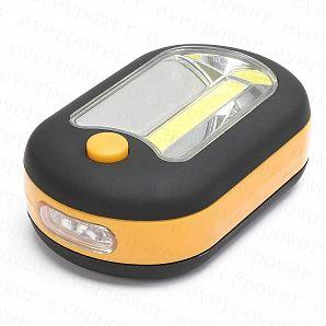 Multifuctional COB 3W+3 LED Flashlight for Inspection