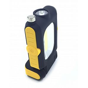 Telescopic COB 3W LED Flashlight With Pick Up Tools