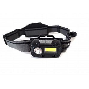 Rechargeable Motion Sensor Helmet LED Headlamp