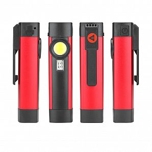 Pocket Clip UV LED Torch with Strong Magnet